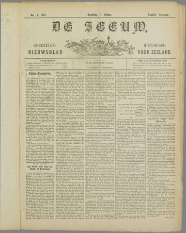 De Zeeuw. Christelijk-historisch nieuwsblad voor Zeeland 1897-10-07