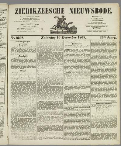 Zierikzeesche Nieuwsbode 1865-12-16