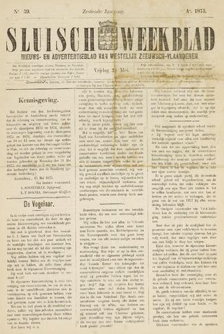Sluisch Weekblad. Nieuws- en advertentieblad voor Westelijk Zeeuwsch-Vlaanderen 1875-05-21