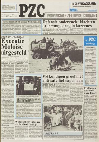 Provinciale Zeeuwse Courant 1985-08-21