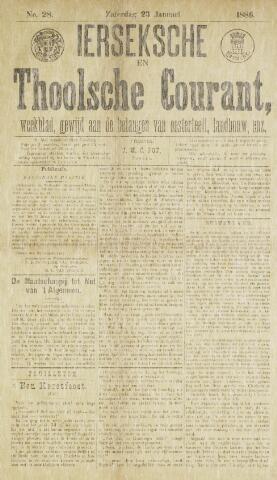 Ierseksche en Thoolsche Courant 1886-01-23