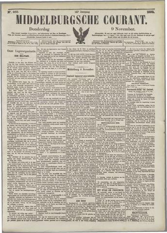 Middelburgsche Courant 1899-11-09