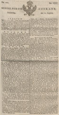 Middelburgsche Courant 1771-08-22