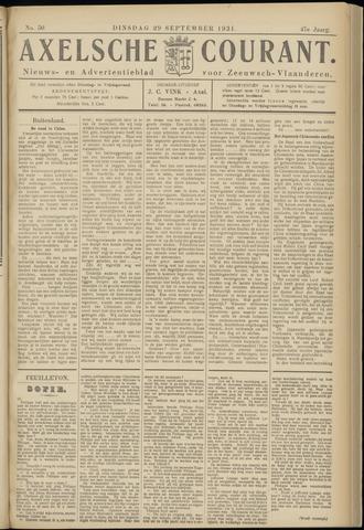 Axelsche Courant 1931-09-29