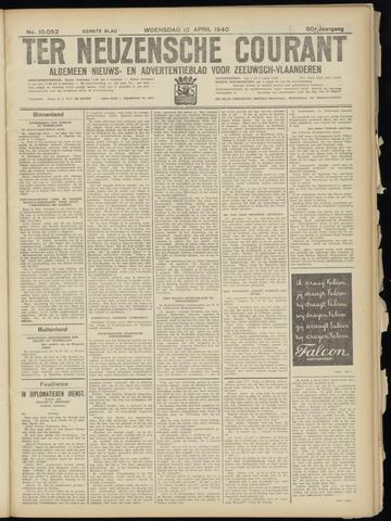 Ter Neuzensche Courant. Algemeen Nieuws- en Advertentieblad voor Zeeuwsch-Vlaanderen / Neuzensche Courant ... (idem) / (Algemeen) nieuws en advertentieblad voor Zeeuwsch-Vlaanderen 1940-04-10