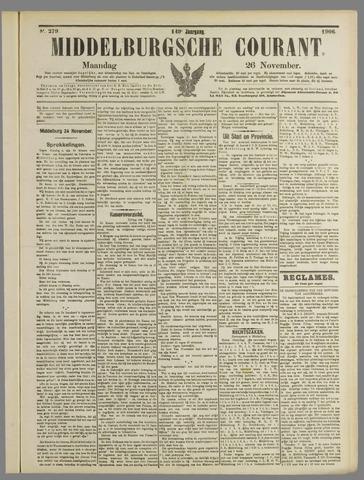 Middelburgsche Courant 1906-11-26