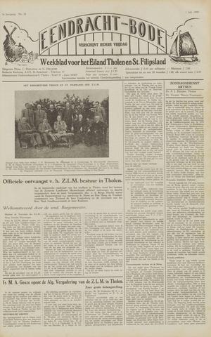 Eendrachtbode (1945-heden)/Mededeelingenblad voor het eiland Tholen (1944/45) 1949-07-01