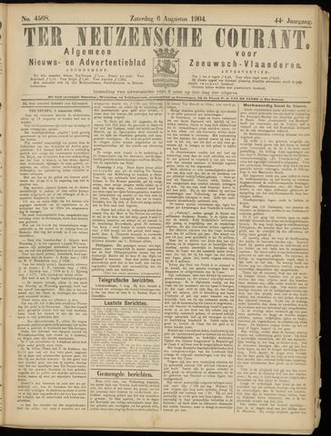 Ter Neuzensche Courant. Algemeen Nieuws- en Advertentieblad voor Zeeuwsch-Vlaanderen / Neuzensche Courant ... (idem) / (Algemeen) nieuws en advertentieblad voor Zeeuwsch-Vlaanderen 1904-08-06