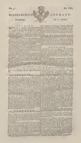 Middelburgsche Courant 1762-01-21
