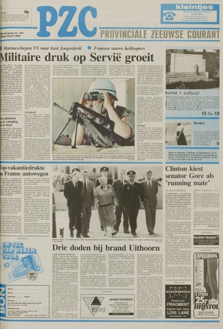 Provinciale Zeeuwse Courant 1992-07-10