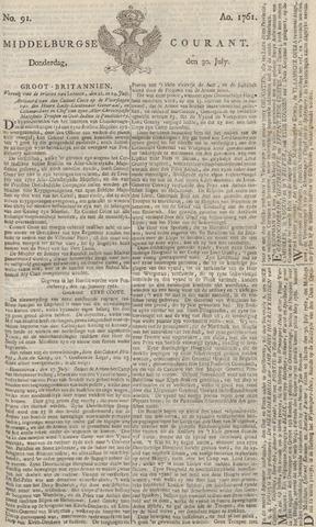 Middelburgsche Courant 1761-07-30
