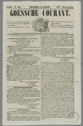 Goessche Courant 1865-03-13