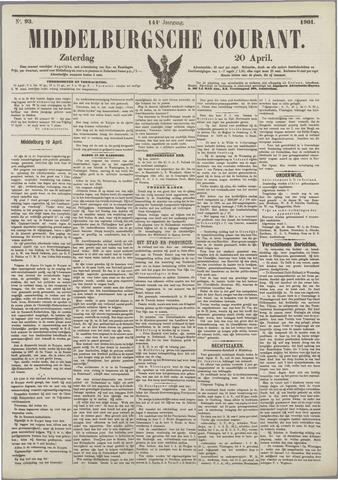 Middelburgsche Courant 1901-04-20