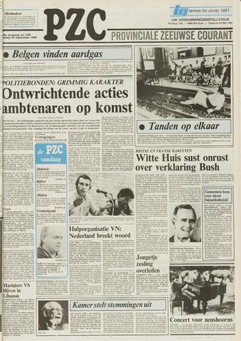 Provinciale Zeeuwse Courant 1983-09-30