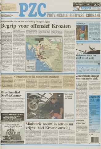 Provinciale Zeeuwse Courant 1995-08-05