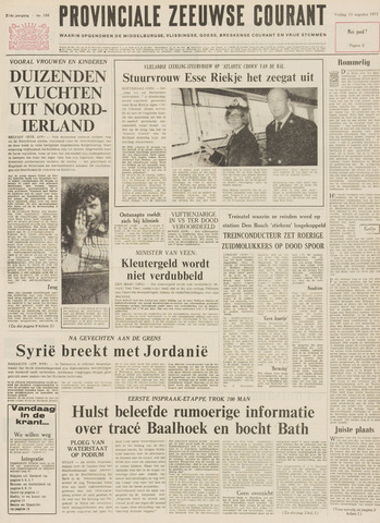 Provinciale Zeeuwse Courant 1971-08-13