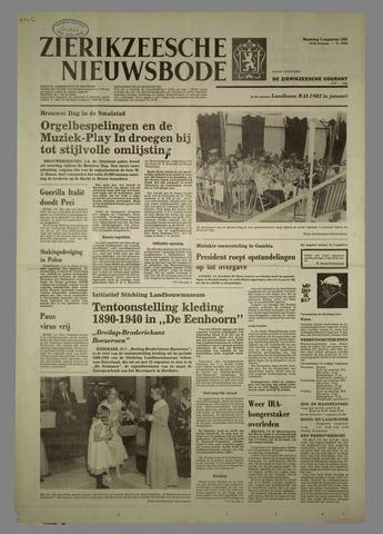 Zierikzeesche Nieuwsbode 1981-08-03