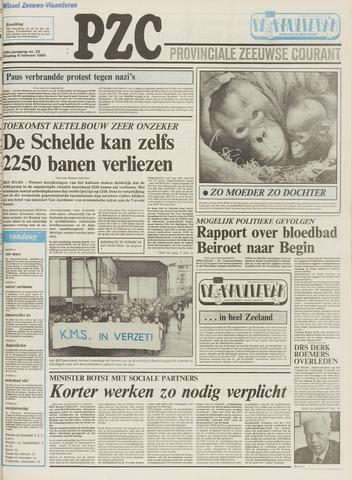 Provinciale Zeeuwse Courant 1983-02-08