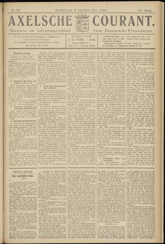 Axelsche Courant 1932-02-09