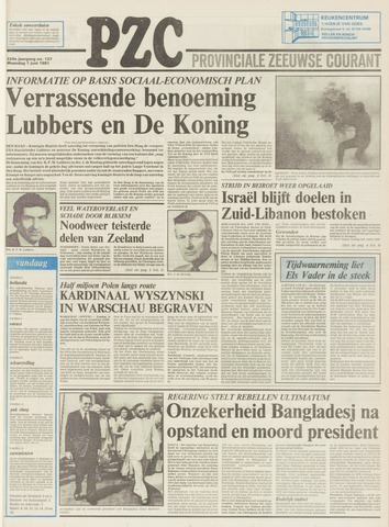 Provinciale Zeeuwse Courant 1981-06-01