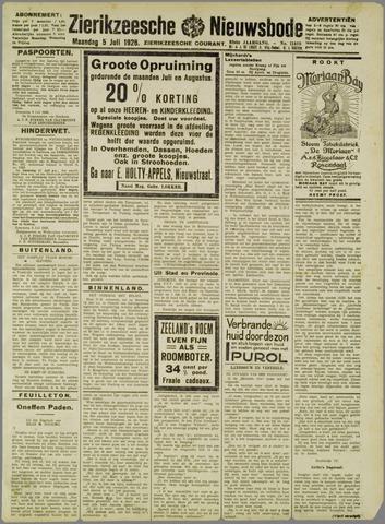 Zierikzeesche Nieuwsbode 1926-07-05