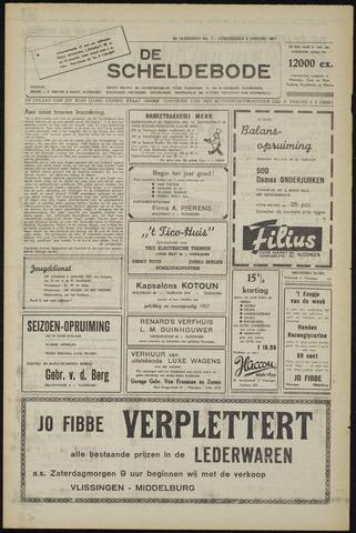 Scheldebode 1957