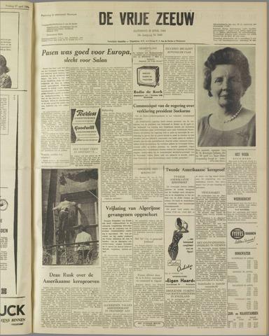 de Vrije Zeeuw 1962-04-28