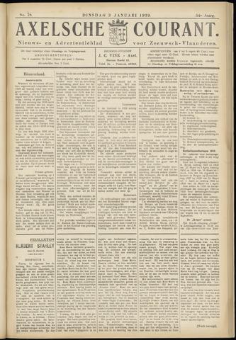 Axelsche Courant 1939
