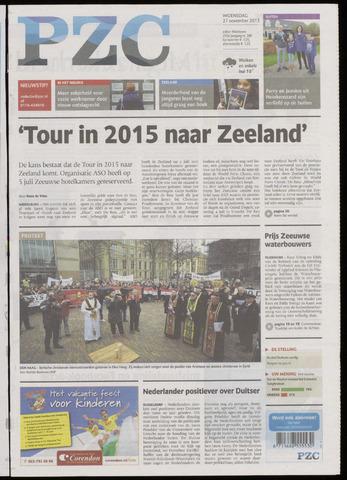 Provinciale Zeeuwse Courant 2013-11-27
