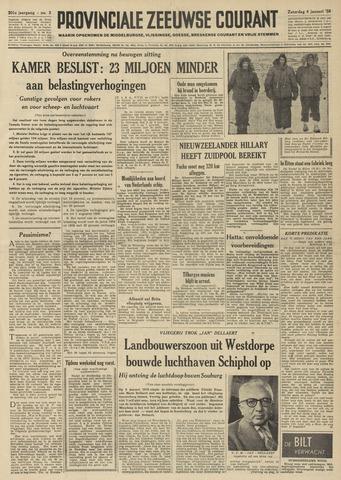 Provinciale Zeeuwse Courant 1958-01-04