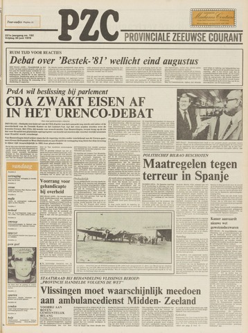Provinciale Zeeuwse Courant 1978-06-30