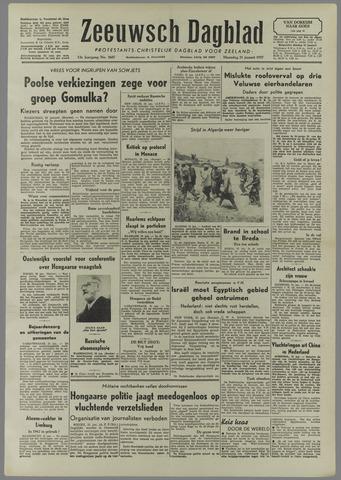 Zeeuwsch Dagblad 1957-01-21