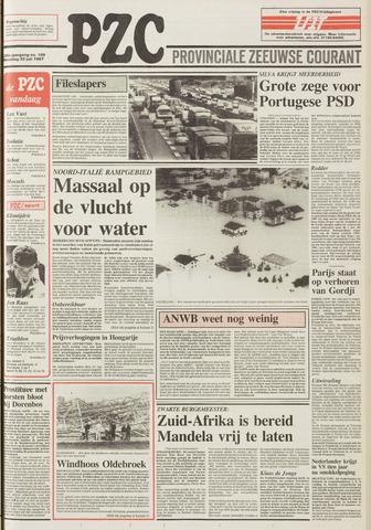 Provinciale Zeeuwse Courant 1987-07-20