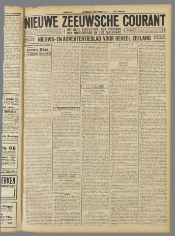 Nieuwe Zeeuwsche Courant 1933-09-02