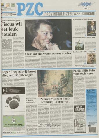 Provinciale Zeeuwse Courant 1999-12-09