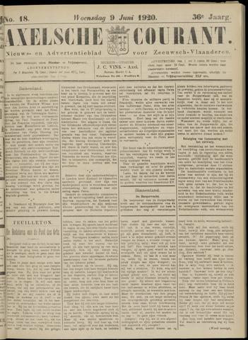 Axelsche Courant 1920-06-09