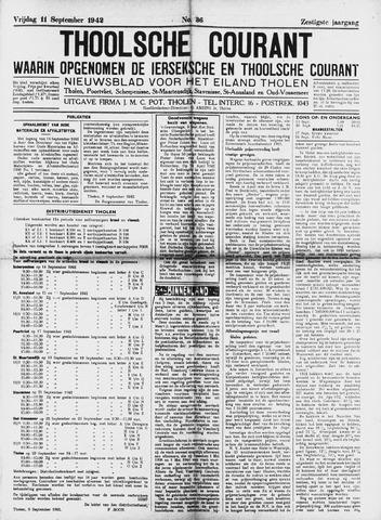Ierseksche en Thoolsche Courant 1942-09-11