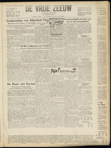 de Vrije Zeeuw 1950-04-03