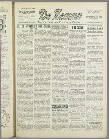 De Zeeuw. Christelijk-historisch nieuwsblad voor Zeeland 1937-12-31
