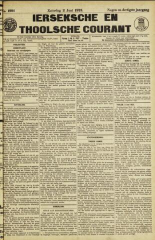 Ierseksche en Thoolsche Courant 1923-06-02