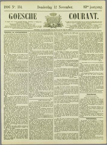 Goessche Courant 1896-11-12