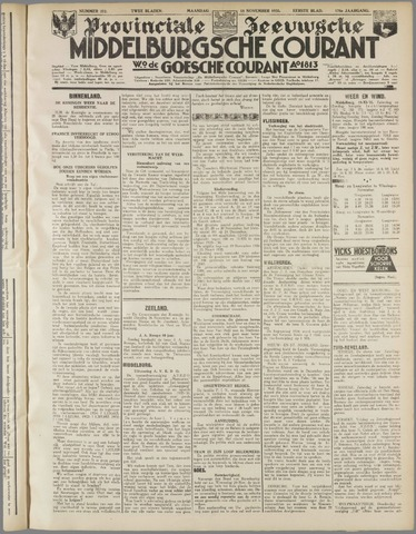 Middelburgsche Courant 1935-11-18