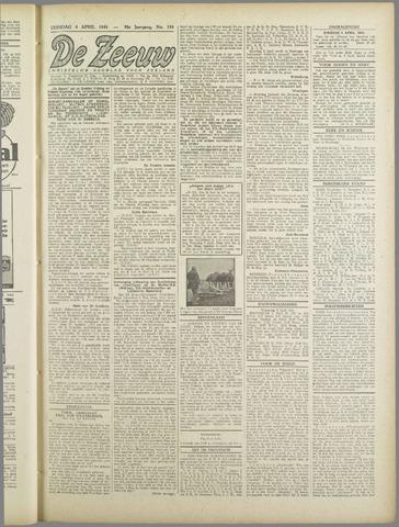 De Zeeuw. Christelijk-historisch nieuwsblad voor Zeeland 1944-04-04