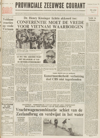 Provinciale Zeeuwse Courant 1973-01-25