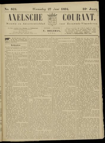 Axelsche Courant 1894-06-27