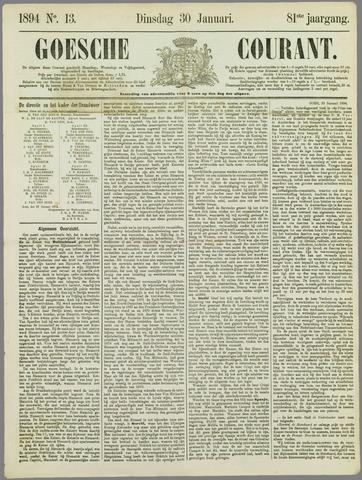 Goessche Courant 1894-01-30