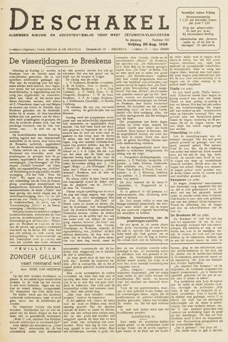De Schakel 1954-08-20