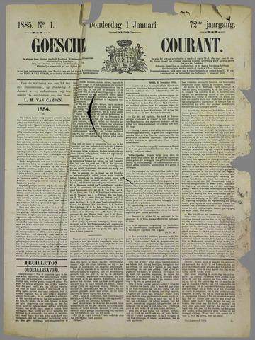 Goessche Courant 1885