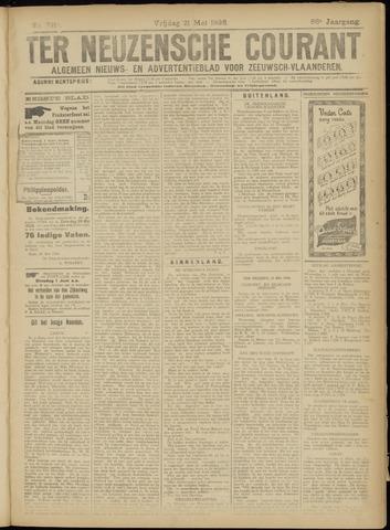 Ter Neuzensche Courant. Algemeen Nieuws- en Advertentieblad voor Zeeuwsch-Vlaanderen / Neuzensche Courant ... (idem) / (Algemeen) nieuws en advertentieblad voor Zeeuwsch-Vlaanderen 1926-05-21