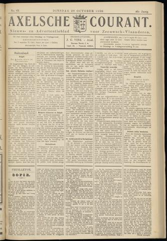 Axelsche Courant 1930-10-28